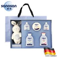 【sanosan】baby喜迎新生寶寶甜心禮盒(含提袋)