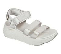 Skechers Max Cushioning Sandal [140218NAT] 女 運動涼鞋 厚底 避震緩衝 米