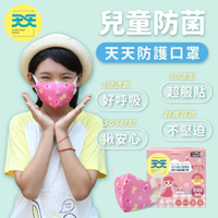 【天天】兒童防菌醫用口罩-娃娃熊(50入/盒)