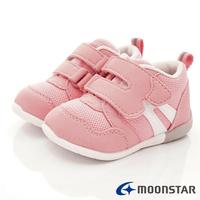 日本月星Moonstar機能童鞋-HI系列3E穩定款1114粉(寶寶段)