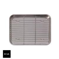 【HOLA】Nerez 304不鏽鋼調理盤23cm