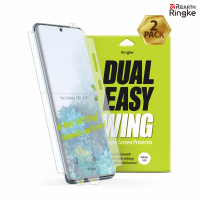 【Ringke】三星 Galaxy S20/S20+/S20 Ultra/S20 FE (Dual Easy Wing) 螢幕保護貼-二入(S20系列保護貼)