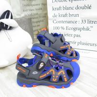 LOTTO 磁扣護趾涼鞋 童鞋 涼鞋 運動涼鞋 LT1AKS3386 藍【iSport愛運動】
