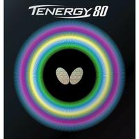 Butterfly 桌球 膠皮 蝴蝶牌 TENERGY 80 面膠 T80 是最好打的桌球膠皮【大自在運動休閒精品店】