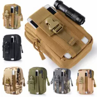 ผู้ชายยุทธวิธี Molle กระเป๋าเข็มขัดเอวกระเป๋าแพ็คถุง Pocket ขนาดเล็กทหารเอว Pack กระเป๋าการเดินทาง ...