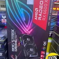 ใหม่มาถึง AMD Radeon RX 6600 XT Mining Card RX 6600 XT ROG Gaming RX 6600 XT กราฟิกการ์ด ASUS RX 6600 XT ROG Gaming