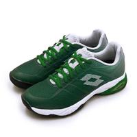 【LOTTO】男 進階旗艦級網球鞋 MIRAGE 300 II SPD系列 紅土(綠白 2136285YD)