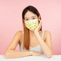 【預購商品】銀康生醫PEANUTS史努比醫療口罩10入-史努比暖心黃