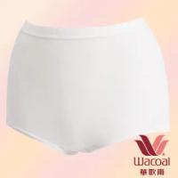 【Wacoal 華歌爾】新伴蒂-S型 高腰 M-3L 機能內褲盒裝2件組(純淨白)