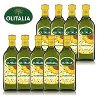 (老爹特惠)【奧利塔olitalia】葵花油1000ml (9瓶團購組A270002x9)