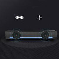 揚聲器USB有線立體聲Soundbar音樂播放器低音環繞