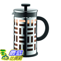 [7美國直購] 咖啡壺 Bodum 11195-16US Coffee Maker 34 oz. Chrome