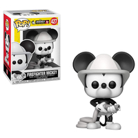 Funko POP! Disney 迪士尼公仔 米奇90週年 消防隊米奇 【鯊玩具Toy Shark】