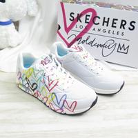 Skechers UNO-SPREAD THE LOVE 女款 休閒鞋 155507WMLT 愛心【iSport愛運動】