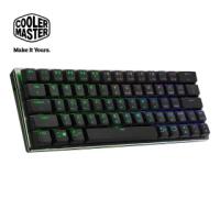 【CoolerMaster】Cooler Master SK622 藍芽矮軸RGB機械式鍵盤 黑色茶軸 英刻(SK622)