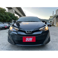2018年 最新款Toyota Vios 1.5 經典版 雲河灰 超貸 找錢 實車實價 全額貸 一手車 女用車 非自售