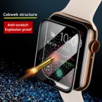 ฟิล์มนุ่มสำหรับ Apple Watch Band 44มม.40มม.42มม./38มม.Iwatch ป้องกันหน้าจอ Apple Watch Series 6 se 5 4 3อุปกรณ์เสริม