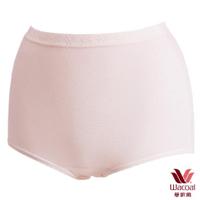 【華歌爾】新伴蒂內褲M-3L高腰三角款(淺粉紅)
