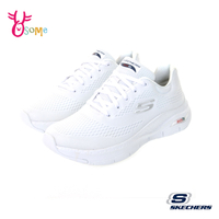 Skechers健走鞋 女鞋 ARCH FIT 足弓支撐跑鞋 耐磨底 運動鞋 慢跑鞋 足弓鞋墊 V8268#白色