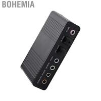 Bohemia 千美6通道聲卡USB外置數字光纖SPDIF