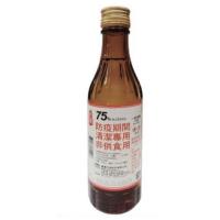 台酒 75%防疫清潔用 酒精(非食用) 300ml 臺酒 台酒