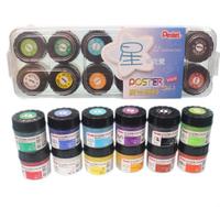 Pentel 飛龍牌 POC-12廣告顏料 (壓盒)/一盒12色入(定240) 12cc 12色盒裝 水彩顏料 MIT製