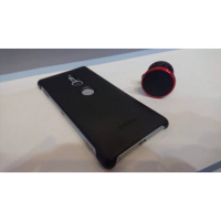 Sony XZ2 原廠背蓋 (原廠皮套+導航吸盤)