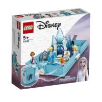 【LEGO 樂高】積木 迪士尼公主系列 Disney 艾莎與水靈諾克的口袋故事書 43189(代理版)