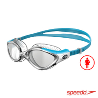 ║speedo║成人運動泳鏡Futura Biofuse透明藍