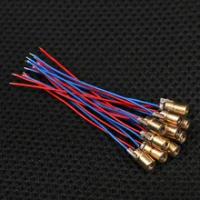 1/3/5/10 Cái Cao Cấp Mini Laser Diode 650nm 6Mm 3/5V 5 Triệu Watt Có Thể Điều Chỉnh Laser Dot Diode Module Đồng Đỏ Đầu Laser