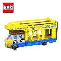 【日本正版】TOMICA 胡迪 迪士尼 小汽車運輸車 內不附小車 Disney Motors 多美小汽車 134718