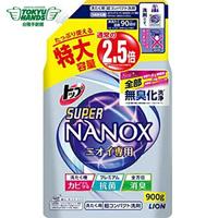 【TOKYU HANDS 台隆手創館】日本獅王奈米樂超濃縮抗菌洗衣精補充包(900g)
