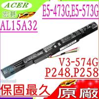 ACER 電池(原廠)-宏碁 AL15A32 E5-473G,E5-573G,V3-574G 4ICR17/65,E5-473,E5-573,V3-574