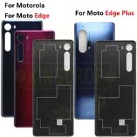 For Motorola Moto Edge Back Battery Cover XT2063-3 Rear Door Panel Housing Case For Motorola Edge Edge+Plus XT2061-3