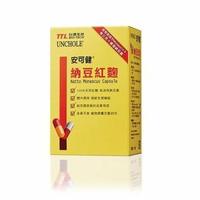 【台酒生技】安可健納豆紅麴(60粒/瓶)