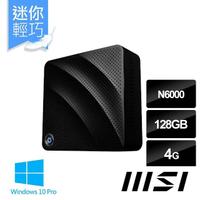 【MSI 微星】CUBI N JSL-009TWW 迷你電腦(N6000/4G/128G SSD/Win10 Pro)