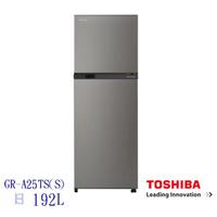 TOSHIBA東芝192公升一級能效變頻電冰箱GR-A25TS(S)