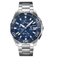 PAGANI DESIGN   藍水鬼 潛水錶系列  銀鋼男錶 PD-1617 【Watch-UN】