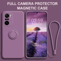 Redmi note 10 Pro note10 Pro Case Liquid Silicone Stand Magnetic Camera Protector Cover For Xiaomi Redmi note 10 Pro note10 Pro