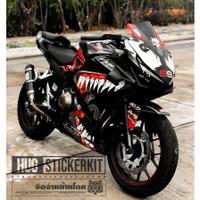 Moto橘皮 CBR500R 猛毒 Venom 曼威卡通 全車貼紙 honda cbr650r cbr650f