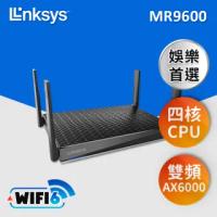 【Linksys】MR9600 雙頻 AX6000 WiFi 6 路由器 iMESH一鍵建立MESH網路(MR9600-AH)