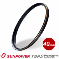 【SUNPOWER】TOP2 PROTECTOR 專業保護鏡/40mm