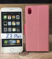 福利品側翻皮套 Sony Xperia Z3 Plus Z3+ 撞色皮套 可立式 插卡 保護套 手機套