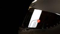 SHOEI X-14 Z7用紅色鏡片扣與選手一樣【JC crew 】