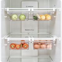 冰箱掛架 冰箱內部隔板層收納盒抽屜式雞蛋食物保鮮掛架冷藏整理分層置物架ab3263