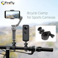 自行車夾攝像機固定夾 1 / 4 英寸適配器配件, 用於口袋 2 / OM 4 / Insta360 One X2 /