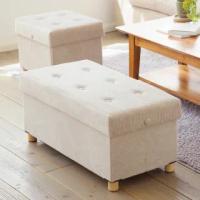 【IRIS】折疊收納木腳長椅凳 ASSTW-76(大容量/收納/日本設計/多功能)