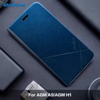 For AGM A9 Leather Case For AGM H1 Cover For AGM A9 JBL Case For AGM X2 Phone Case For AGM X2 SE Business Case For AGM X3 Covers