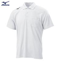 男款短袖POLO衫 32TA002001(白)【美津濃MIZUNO】