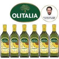 【Olitalia奧利塔】葵花油禮盒組(1000mlx6瓶)